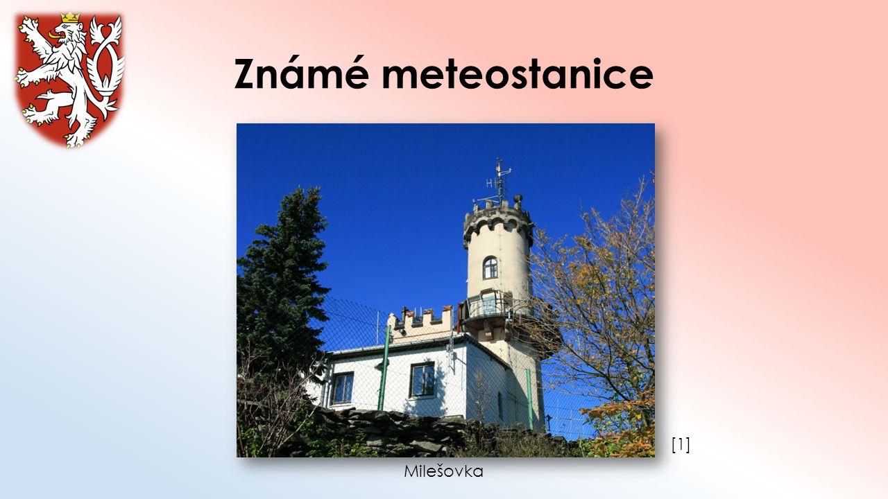 Známé meteostanice [1] Milešovka